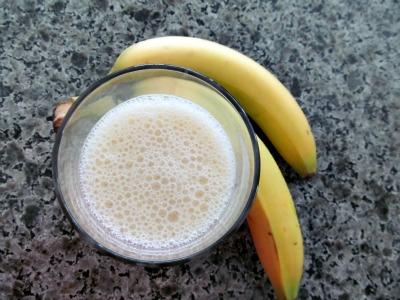 banana and ananas smoothie